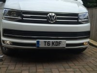 Front fogs     none LED bulbs | VW T6 Forum - The Dedicated VW