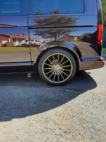 Question For You All ,which Ride Height Looks Better | VW T6 Forum