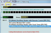 Webasto Aux/parking (water) Heater Configuration With Vcds