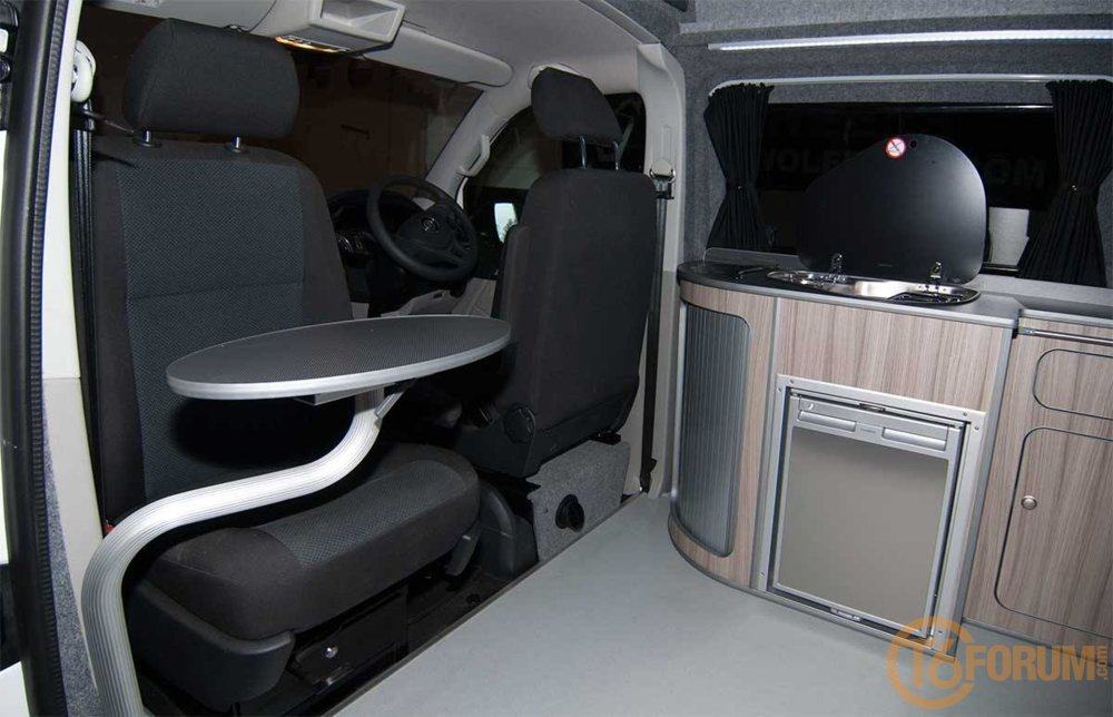 Our T6 Campervan Front Table Vw T6 Forum The Dedicated